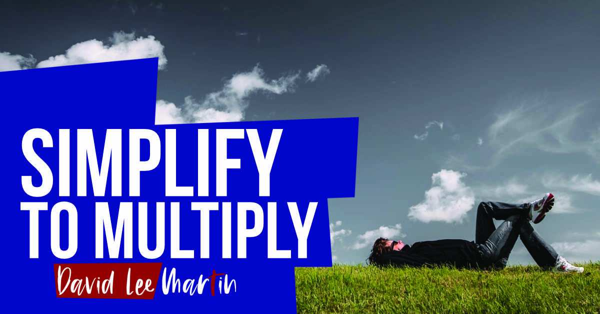 Simplify To Multiply – Growing Your Creative Business The Minimalist Way