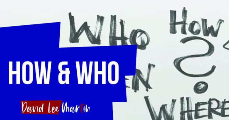 The How Or The Who?