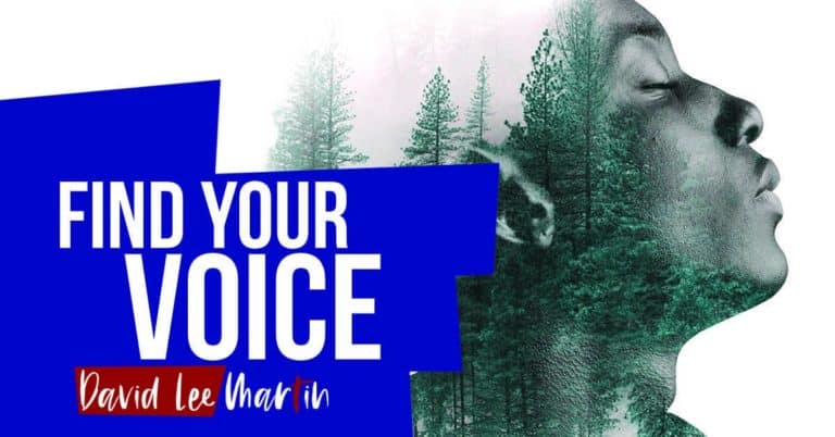 Find Your Voice By Using It